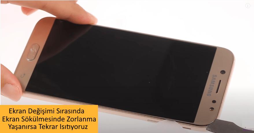Samsung J7 Pro Ekran Degisimi 3