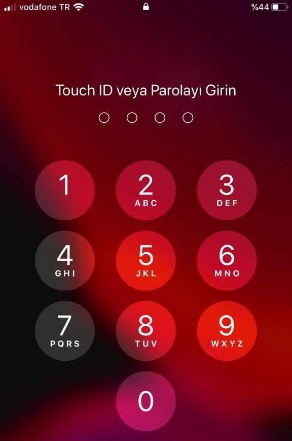 iPhone Telefonun Sifresini Sifirlama