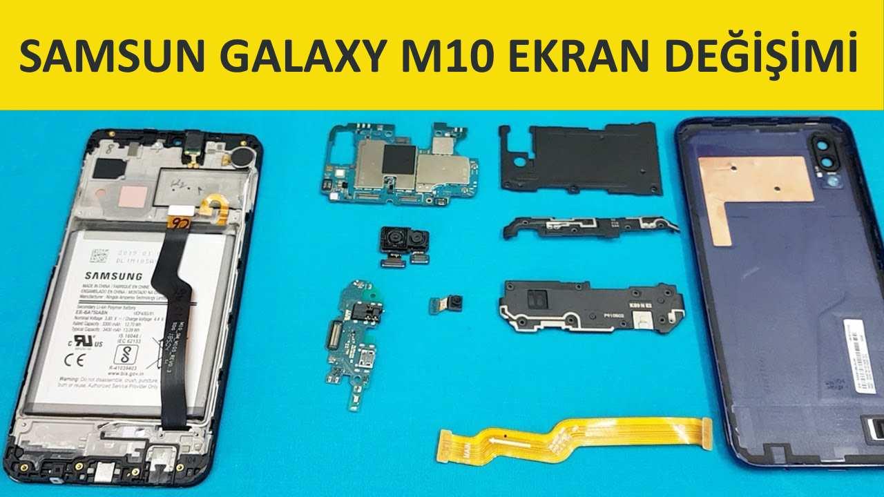 samsung galaxy m10 ekran değişimi