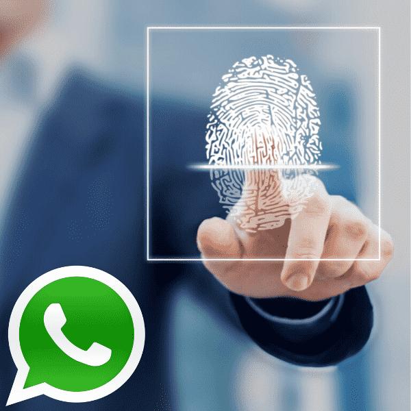 parmak izi kilidi nasil yapilir whatsapp
