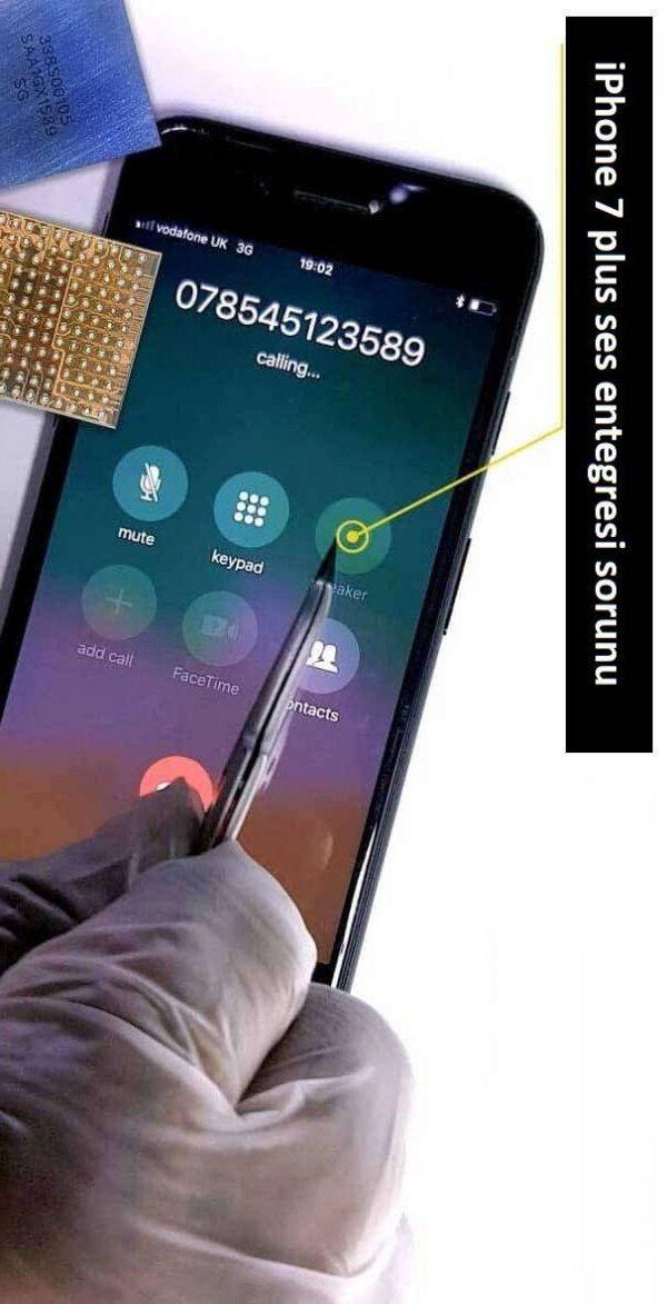 iPhone 7 plus ses entegresi değişimi