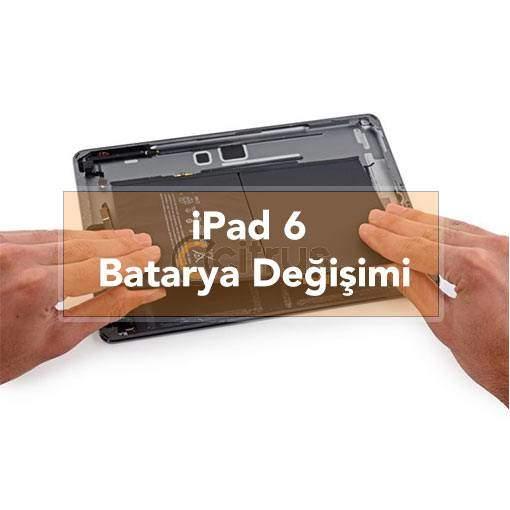 iPad 6 Batarya Değişimi Pil Değişimi garantili batarya değişim işlemi