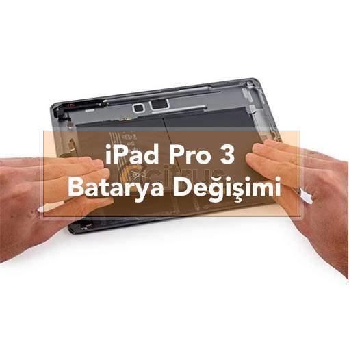 iPad Pro 3 Batarya Değişimi Pil Değişimi garantili batarya değişim işlemi