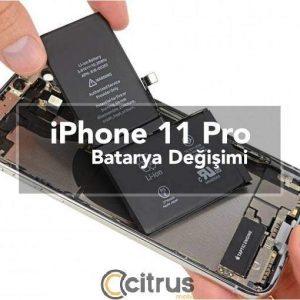 iPhone 11 Pro Batarya Değişimi orijinal iphone batarya pilleri