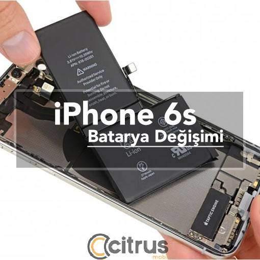 iPhone 6s Batarya Değişimi pil değişim