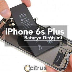 iPhone 6s Plus Batarya Değişimi pil değişimi