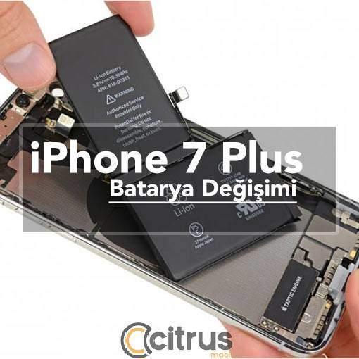 iPhone 7 Plus Batarya ve Pil Değişimi