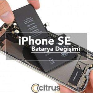 iPhone SE Batarya Değişim