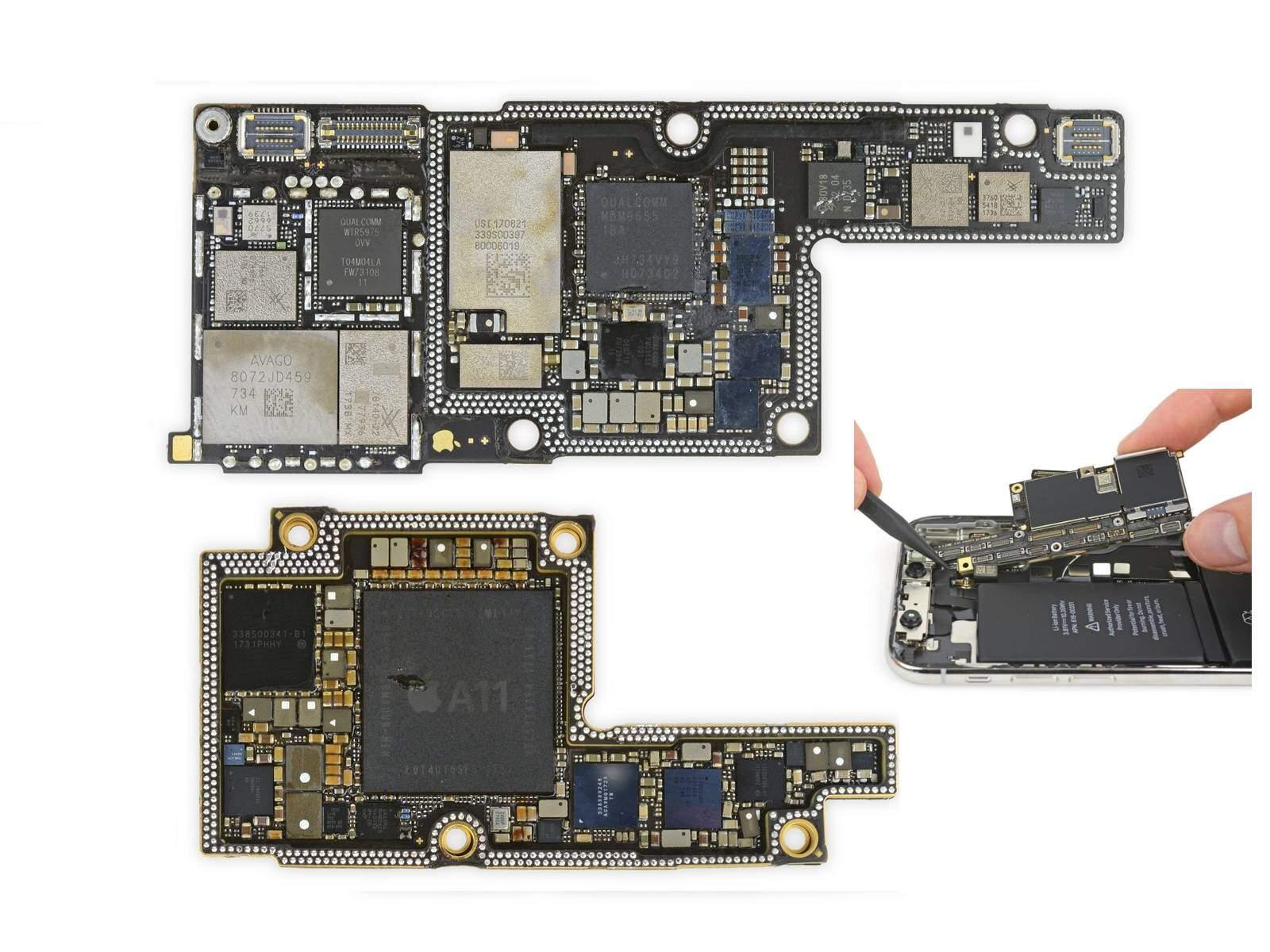 iPhone X Anakart
