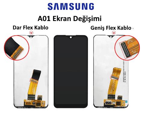 Samsung A01 Ekran Degisimi