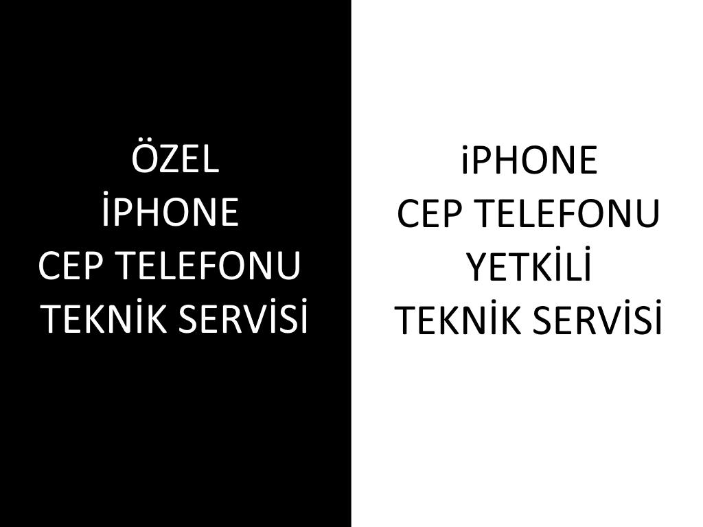 IPHONE TEKNIK SERVISI