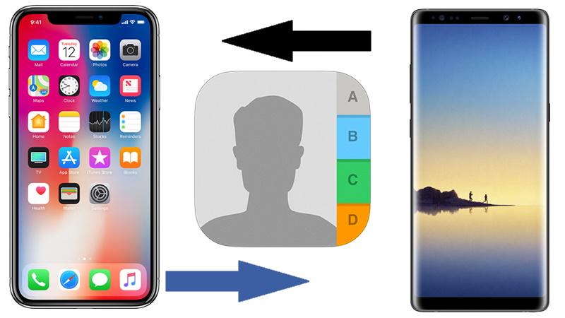 iphone rehber yedekeleme